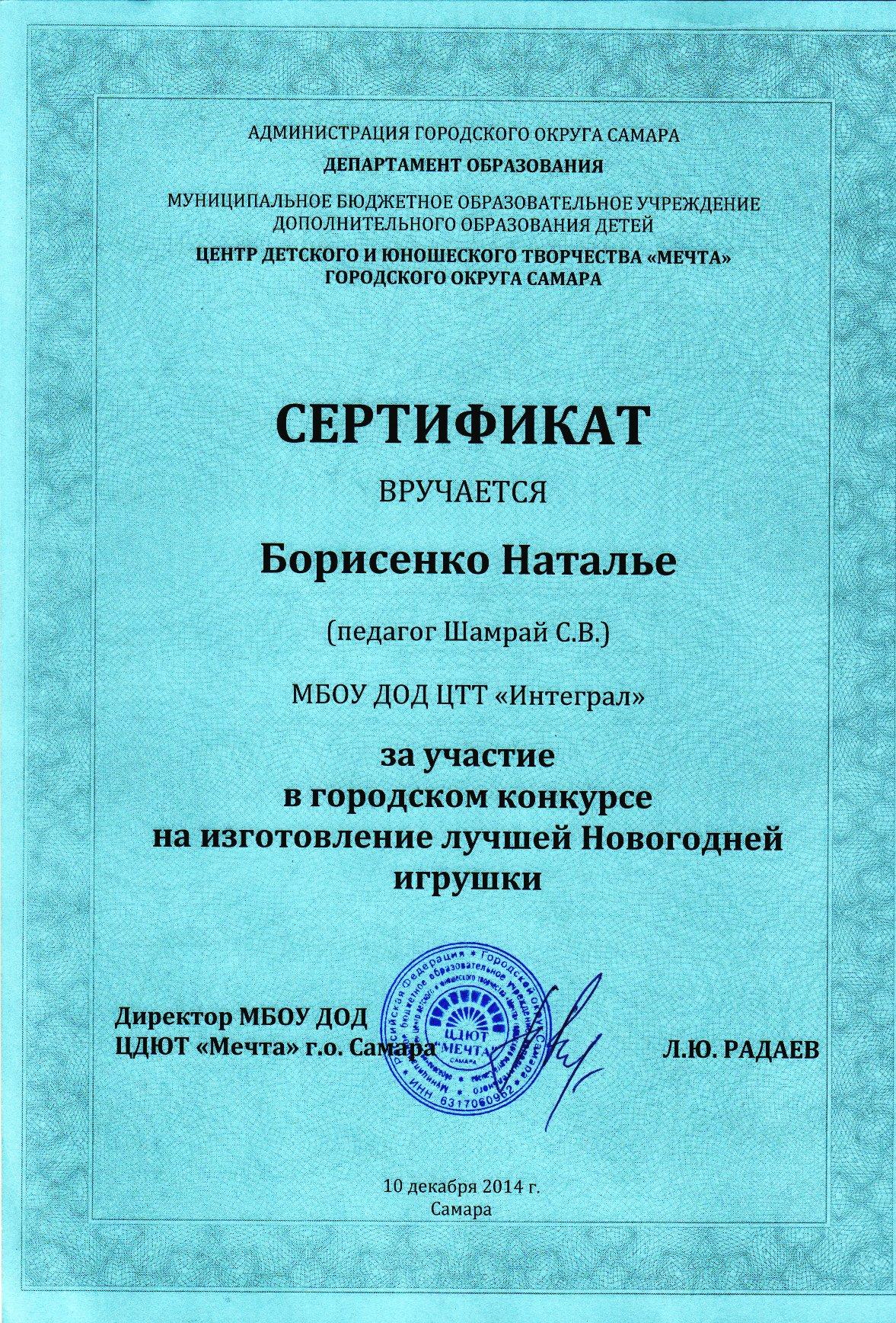 Novogodnyaya_Igrushka_2014_Borisenko_Nataljya
